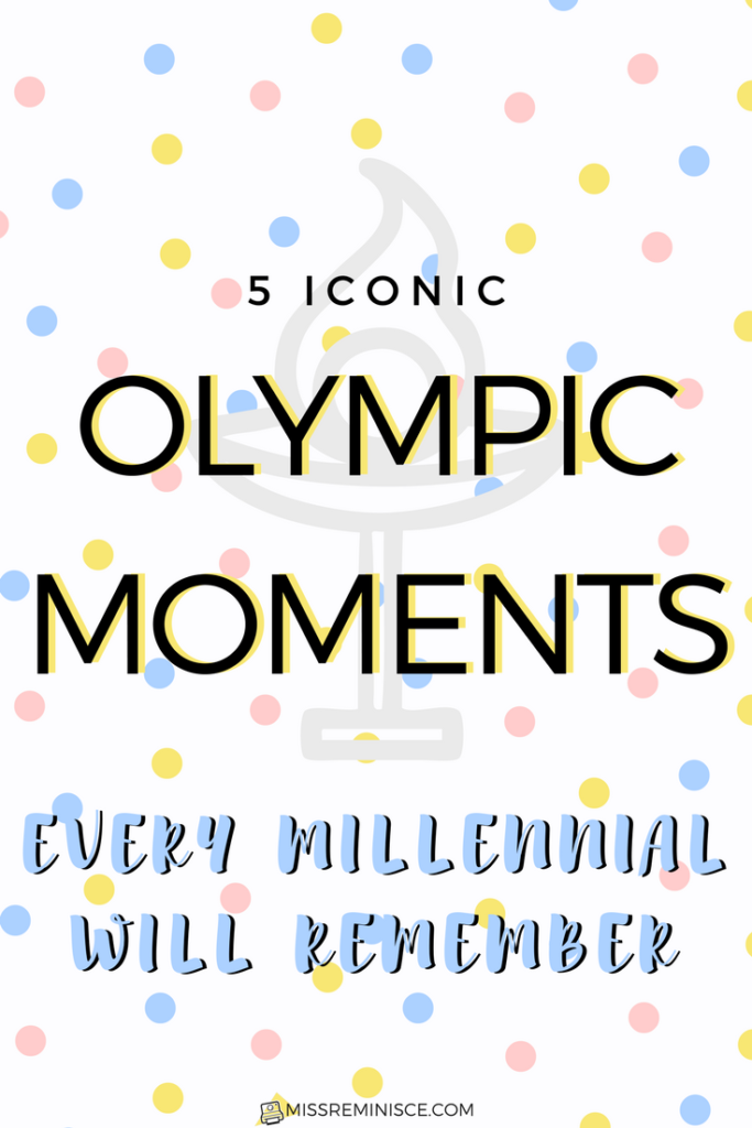 5 Iconic Olympic Moments Every Millennial Will Remember